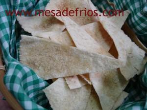 Torradinhas de pão árabe