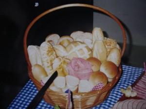 cesta de pães